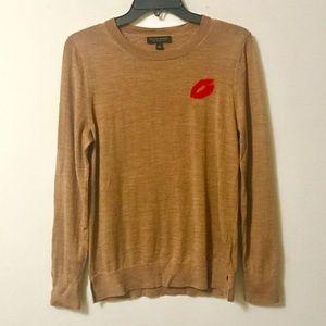 Banana Republic Brown Kiss Sweater